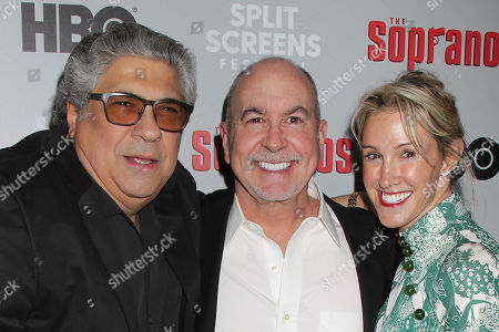 Stock Picture of Vincent Pastore, Terence Winter and Rachel Winter