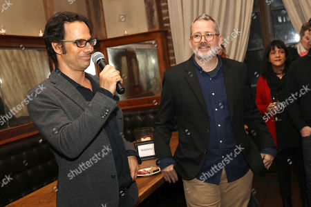 Stock Image of Dan Cogan (Exec. Producer) and Morgan Neville (Director, Producer)