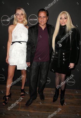 Chelsea Frei, Maurice Benard, Victoria Gotti
