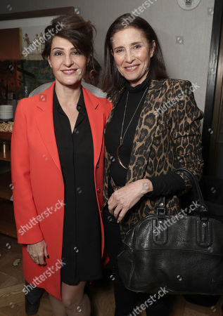Nia Vardalos and Mimi Rogers