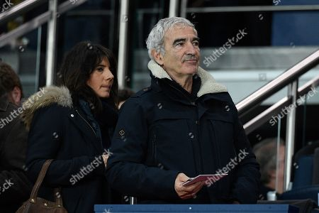 Raymond Domenech and Estelle Denis