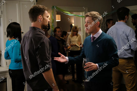 Seann William Scott as Wesley Cole and Kevin Rahm as Brooks Avery