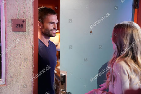 Seann William Scott Wesley Cole as and guest star Maggie Lawson as Natalie Flynn
