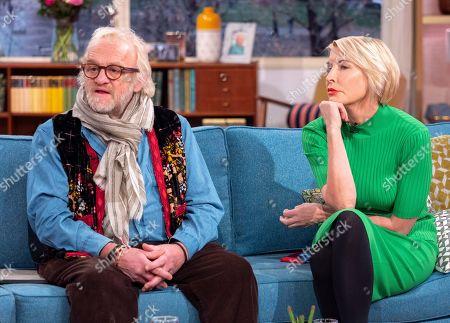 Antony Worrall Thompson and Heather Mills