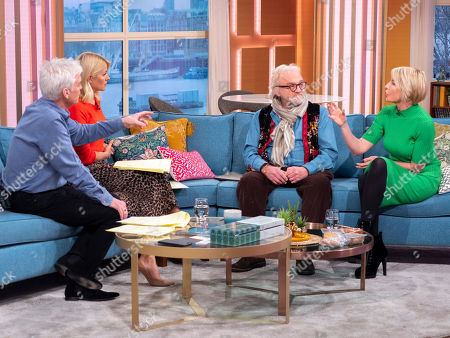 Phillip Schofield and Holly Willoughby with Antony Worrall Thompson and Heather Mills