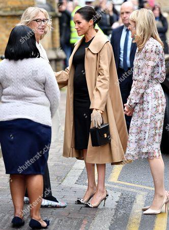 Editorial image of Meghan Duchess of Sussex visit to Smart Works, London, UK - 10 Jan 2019