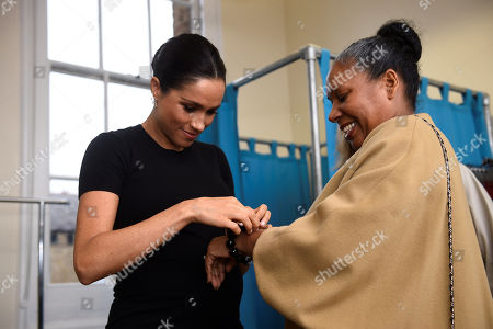 Editorial image of Meghan Duchess of Sussex visit to Smart Works, London, UK - 10 Jan 2019