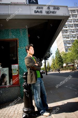 Editorial photo of Tetsuya Ishikawa in Notting Hill Gate, London, Britain - 05 Sep 2009