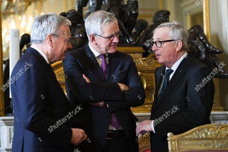 Didier Reynders, Kris Peeters, Jean-Claude Juncker