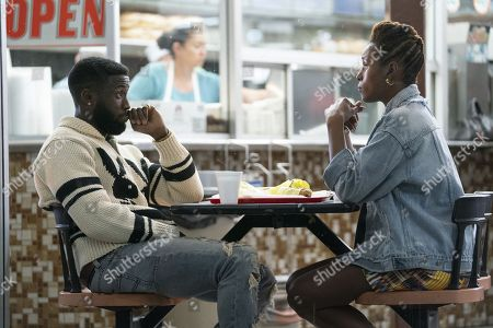Y'Lan Noel as Daniel King and Issa Rae as Issa Dee