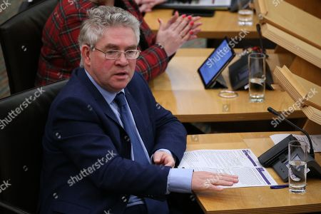 Editorial photo of Scottish Parliament First Minister's Questions, The Scottish Parliament, Edinburgh, Scotland, UK - 10 Jan 2019