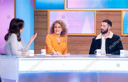 Andrea McLean, Nadia Sawalha, Sean Ward