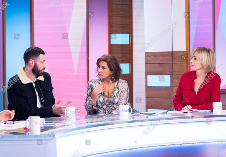 Sean Ward, Saira Khan and Jane Moore