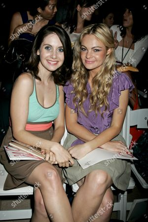 Alison Brie and Caitlin Crosby