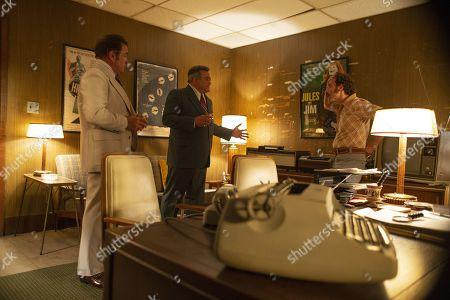 Michael Rispoli as Rudy Pipilo Right, David Krumholtz as Harvey Wasserman Left