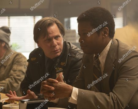 Don Harvey as Danny Flanagan and Lawrence Gilliard Jr as Chris Alston
