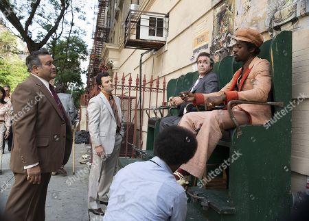 Daniel Sauli as Tommy Longo, Michael Rispoli as Rudy Pipilo and Gary Carr as C.C.