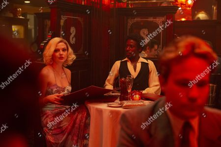 Emily Meade as Lori Madison and Gary Carr as C.C.
