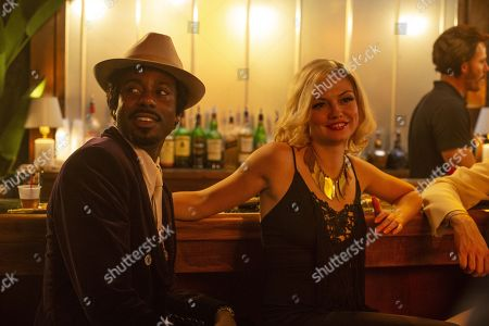 Gary Carr as C.C. and Emily Meade as Lori Madison