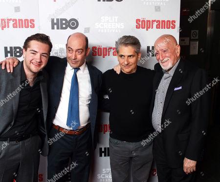 Michael Imperioli, John Ventimiglia, Dominic Chianese