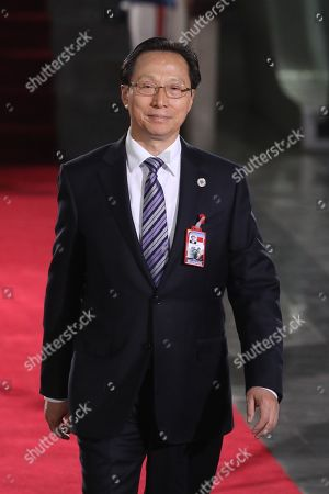 Minister of Agriculture and Rural Affairs of China, Han Changfu, attends the President of Venezuela, Nicolas Maduro's investiture ceremony where he will be sworn in for a second term in office, keeping him in power until 2025, in Caracas, Venezuela, 10 January 2019. Maduro took the position before the TSJ accompanied by six other heads of state who are the only ones in the present in the act of this act signaled by opponents and good part of the international community.