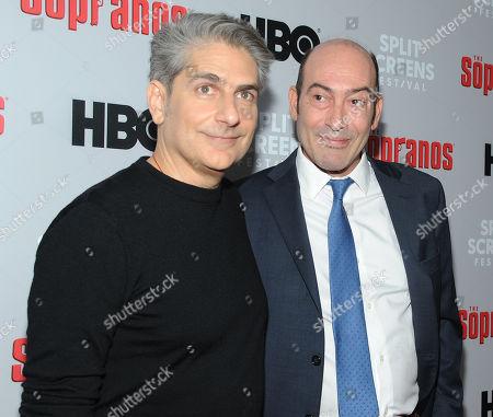 Michael Imperioli and John Ventimiglia