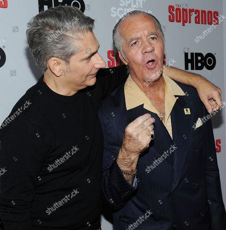 Stock Photo of Michael Imperioli and Tony Sirico