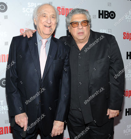 Stock Image of Jerry Adler and Vincent Patore