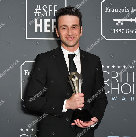 Editorial photo of 24th Annual Critics' Choice Awards, Press Room, Barker Hanger, Los Angeles, USA - 13 Jan 2019