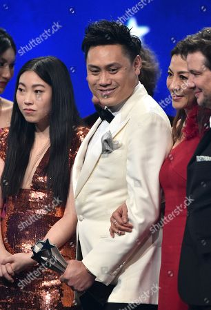 Jon M. Chu and Awkwafina - 'Crazy Rich Asians' - Best Comedy