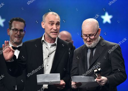 Stock Image of Joel Fields and Joe Weisberg - Best Drama Series - 'The Americans'
