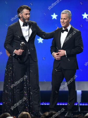 Stock Photo of Andrew Form and Bradley Fuller - Best Sci-Fi/Horror Movie - ?A Quiet Place?