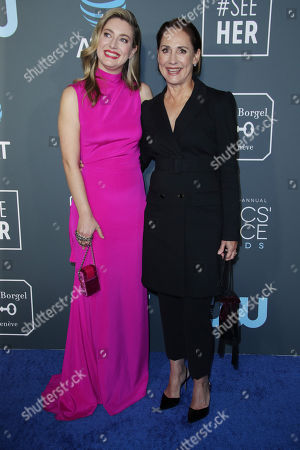 Stock Image of Zoe Perry and Laurie Metcalf