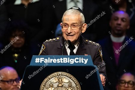 Editorial picture of State of the City address at Symphony Space, New York, USA  - 10 Jan 2019