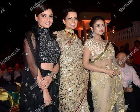 Ankita Lokhande, Kangana Ranaut and Mishti Chakraborty