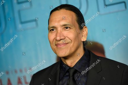 Stock Picture of Michael Greyeyes