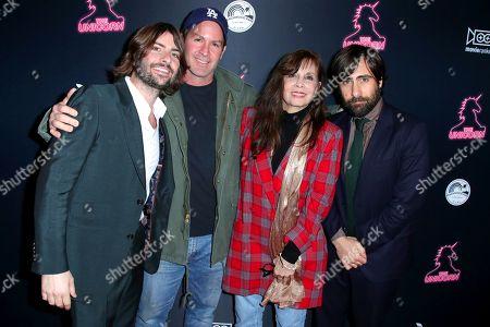 Jason Schwartzman, Matthew Shire, Talia Shire and Robert Schwartzman