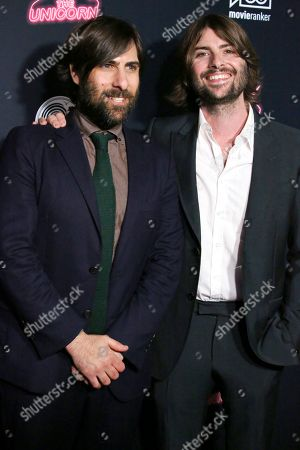 Stock Picture of Jason Schwartzman and Robert Schwartzman