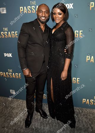 Editorial image of 'The Passage' TV Show Premiere, Arrivals, Broad Stage, Los Angeles, USA - 10 Jan 2019