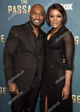 Editorial photo of 'The Passage' TV Show Premiere, Arrivals, Broad Stage, Los Angeles, USA - 10 Jan 2019