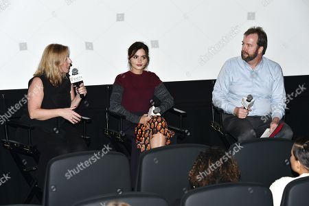 Claire Mundell, Jenna Coleman, Patrick Connolly