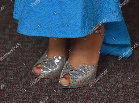 Carmen Ejogo, shoe detail