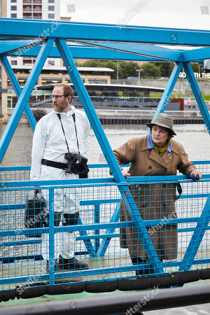 Paul Kaye as Malcolm Donahuem and Brenda Blethyn as DCI Vera Stanhope.