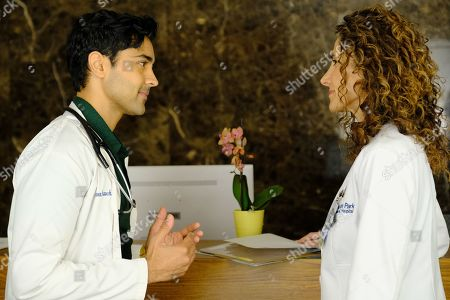 Manish Dayal as Devon Pravesh and Melina Kanakaredes as Lane Hunter