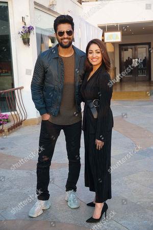 Bollywood actors Vicky Kaushal and Yami Gautam