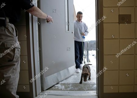 Editorial picture of Prisoners Raising Puppies, Boscawen, USA - 08 Jan 2019