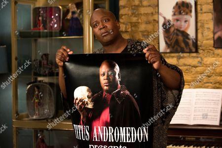 Stock Image of Tituss Burgess as Titus Andromedon
