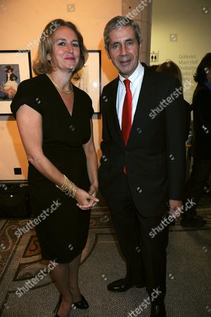 Caroline Michelle with Sir Stuart Rose