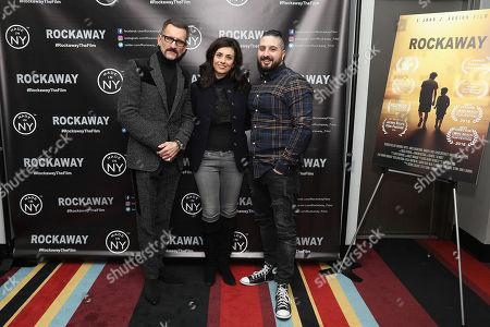 Wass Stevens, Marjan Neshat and John J. Budion (Director)