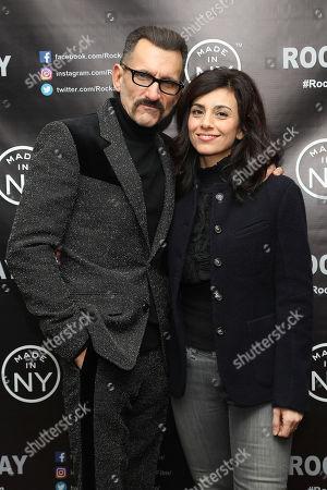Wass Stevens and Marjan Neshat